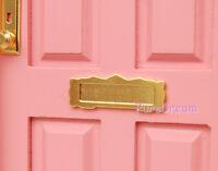 Wholesale 20pcs Hardware Letter Slot Mailbox 1:12 Dollhouse Miniature Furniture