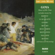 Various Composers Goya Music of His Time CD Booklet Griffith 2004