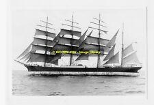 rp4772 - Sailing Ship - Pamir - photograph 6x4