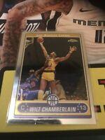 Topps Chrome Wilt Chamberlain Base Card Lakers Legend HOF 2007