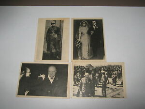 A and BC Winston Churchill cards no's 8,12,25,42.printed in England 1965 as.G/C