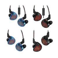 KZ ZS10 Headphones 10 Driver Earphone Dynamic Armature Earbuds HiFi Bass Headset