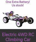 Wltoys 124019 High Speed Racing Drift Hobby Car 60km/H 1/12 2.4GHz RTR 2 Battery