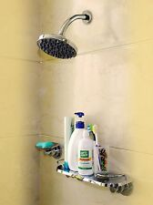 Suction Cup Shower Caddy Basket Soap Dishes Holder Come with 3M Sticker