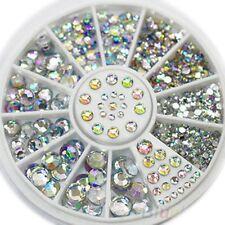 1Box 3D Nail Art Glitter Rhinestone Decoration DIAMANTE CRYSTAL Gem