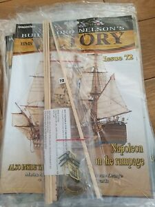 DEAGOSTINI BUILD LORD NELSON'S HMS VICTORY MODEL SHIP ISSUE 72 UNOPENED