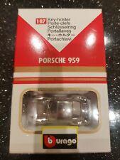 Porsche 959 Key Holder 1/87 BURAGO. Original Box.