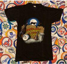 Vintage 1983 Stray Cats Band Struttin' Across America Shirt Screen Stars S/M