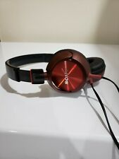 Sony MDR-ZX300 Headband Headphones - Black / Burgundy