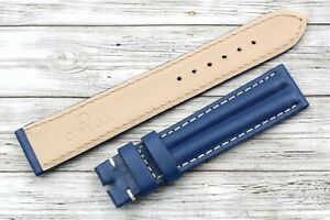 OMEGA Strap Rubberized Blue Size 0 23/32in Speedmaster Automatic New Sports