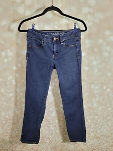 AMERICAN EAGLE OUTFITTERS JEGGING CROP SUPER STRETCH SIZE 4