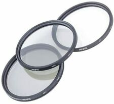 ProOptic 52mm Filter Kit - UV, Circular Polarizer & Neutral Density ND 2 + Pouch