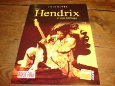 JIMI HENDRIX !!!!!!!!!!!!!!!FRENCH ONLY PROMO BIOGRAPHY