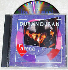 DURAN DURAN ~ ARENA ~ JAPAN Made for USA ~ CD ~ RARE ~ 1st PRESS  1984  VG-