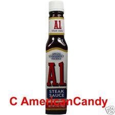 USA kulinarisch für das BBQ:  2x A1 SteakSauce USA zum Grillen   (3,54€/100g)