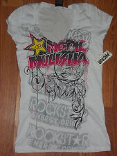 Metal Mulisha Foilage Womens Top Size Large BNWT