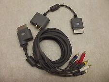 ORIGINAL MICROSOFT XBOX 360 HD COMPONENT AV CABLE