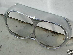 PONTIAC CATALINA BONNEVILLE GRAND PR HEADLIGHT BEZEL 62