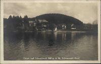 Titisee Baden-Württemberg AK ~1920/30 Schwarzwald Hotel See Panorama Rundblick