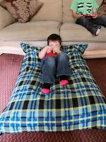 Junior Funky KosiKush Floor Cushion, Lounger, Beanbag, Bean Bag,