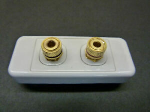 SPEAKER CABLE MICRO ARC WALL PLATE CLIPSAL COMPATIBLE