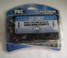 PAC AAI-GM12 GM 2 Source Audio Input iPod iPhone 5 MP3 Aux DVD Auxiliary Factory