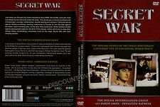 SECRET WAR. THE SPECIAL INTERRIGATION GROUP & HARDY AMIS-OPERATION RATWEEK