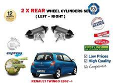 pour Renault Twingo 1.2 1.5 DCI 2007-2014 Neuf 2 X CYLINDRES DE ROUE FREIN