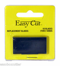 Easy Cut Box / Carton Cutter 10 Count Replacement Blades used with any Easy Cut