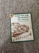 Make Way for Ducklings (Picture Puffins) Book by Robert McCloskey Paperback 1976