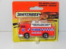 (VG) Matchbox Motorcity AUXILLARY FIRE POWER APPLIANCE - 50 - MC410