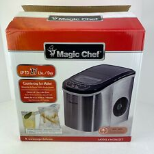 Magic Chef 27 LB Portable Countertop Ice Maker Stainless Steel - MCIM22ST