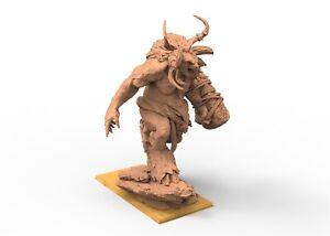 Geant minotaurus Beastmen of Chaos 9th age AOS, Warhammer battle, king of war