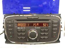 Ford 6000 Focus C-Max Galaxy Etc Cd Auto Radio estéreo Reproductor de CD unidad de cabeza + Código