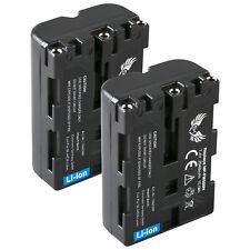 2x SK Akku für Sony NP-FM500H | 2040mAh |1060389| DSLR-Alpha 500 850 900 SLT-A65
