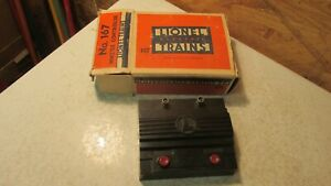 Old Lionel Train Whistle Controller- No. 167  OB