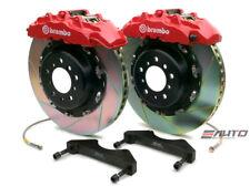 Brembo Front Gt Big Brake Kit Bbk 8piston Red 380x34 Slot Disc Q7 07 14