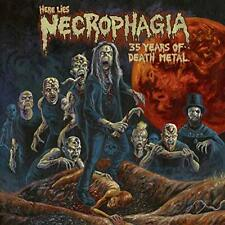 NECROPHAGIA-HERE LIES NECROPHAGIA, 35 YEARS OF DEATH METAL CD NEW