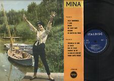 LP MINA ITALDISC LPMH181 1960 TINTARELLA DI LUNA FOLLE BANDERUOLA NESSUNO WHISKY