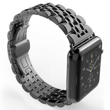 Metálico Reloj Correas Correa de Acero Inoxidable Para Apple Watch 5/4/3/2/1