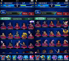 FFBE genuine unlinked, unplayed & loaded Final Fantasy Brave Exvius account FMA!