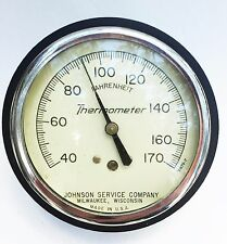 Steampunk tool vintage collectible Steam Fitting Boiler Gauge Thermometer steam