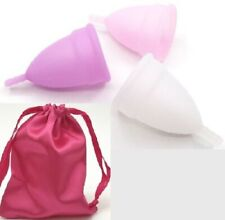 Reusable Menstrual Moon Cup Female Period Soft Silicone Small Eco Friendly