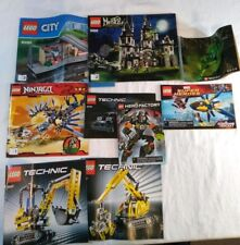 LEGO Instruction Manual Books Mixed Lot Booklets