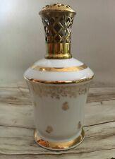 BELLE ET ANCIENNE LAMPE BERGER PORCELAINE GOUMOT LABESSE ANCIEN BOUCHON