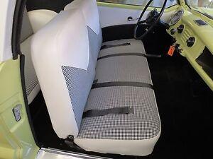 NASH METROPOLITAN Seat Cover Upholstery Kit