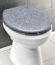 WENKO Premium WC-Sitz Ottana Granit, mit Absenkautomatik