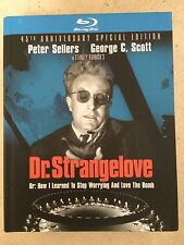 Peter Sellers DR STRANGELOVE ~ Doctor ~ 1964 Kubrick Classic US Blu-ray Digibook