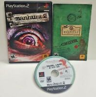 Manhunt 2 PS2 Playstation 2 Game 1 Owner COMPLETE Working Tested Rockstar