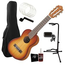 Yamaha GL1 Guitalele Guitar/Ukulele - Tobacco Sunburst COMPLETE GUITAR BUNDLE